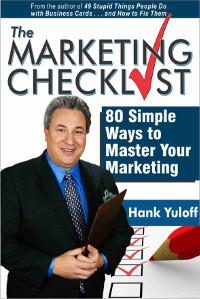 marketing checklist book